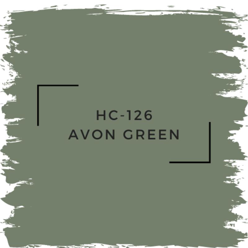 Benjamin Moore HC-126 Avon Green