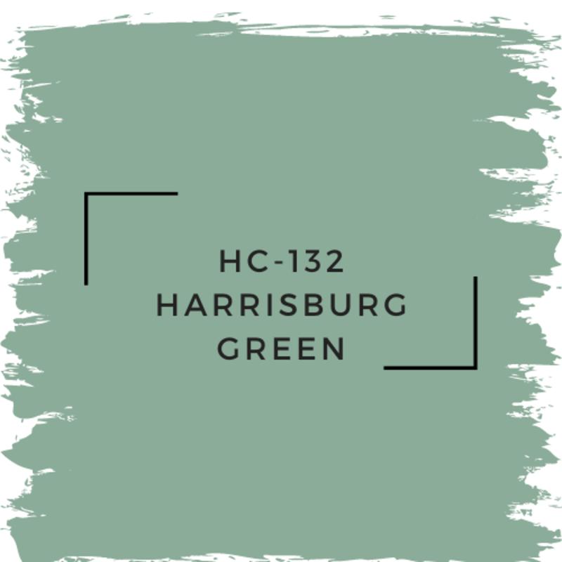 Benjamin Moore HC-132 Harrisburg Green