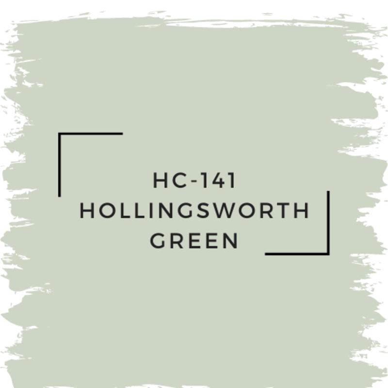 Benjamin Moore HC-141 Hollingsworth Green