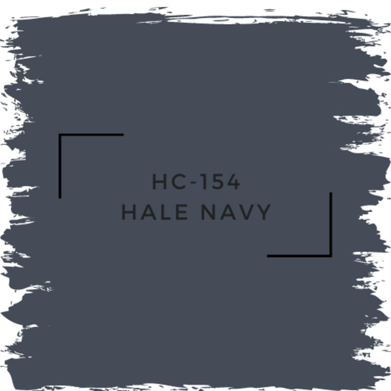 Benjamin Moore HC-154 Hale Navy