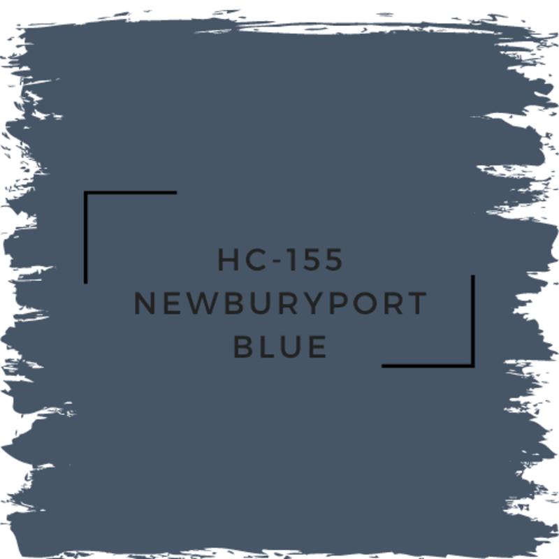 Benjamin Moore HC-155 Newburyport Blue