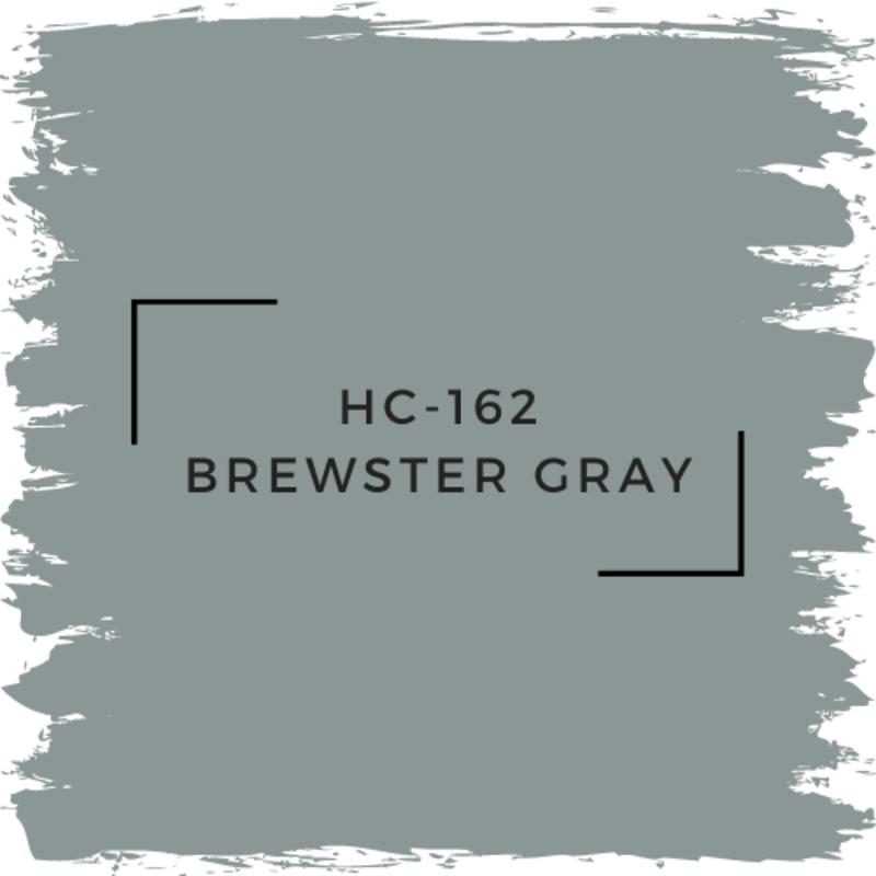 Benjamin Moore HC-162 Brewster Gray