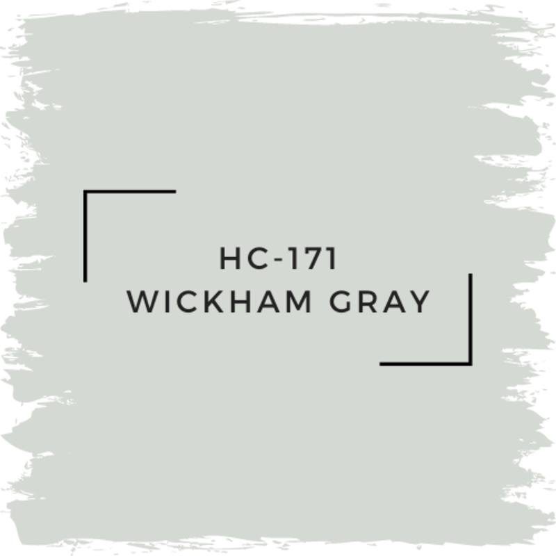 Benjamin Moore HC-171 Wickham Gray