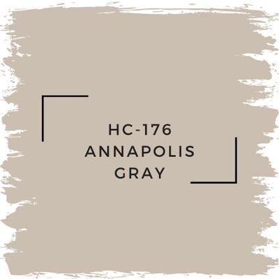 Benjamin Moore HC-176 Annapolis Gray