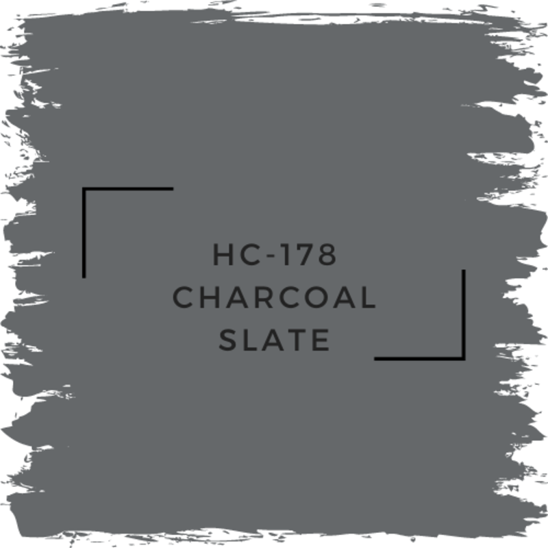 Benjamin Moore HC-178 Charcoal Slate