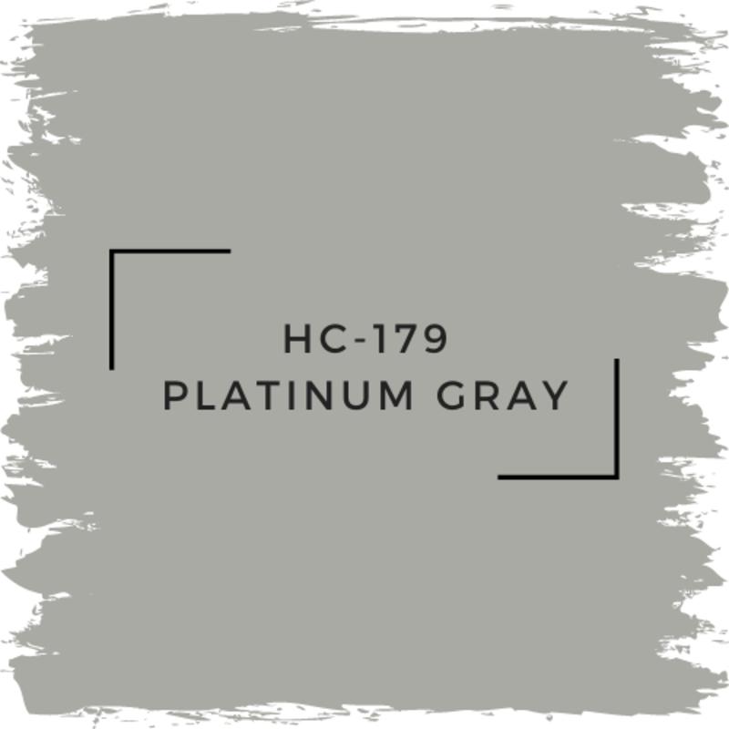 Benjamin Moore HC-179 Platinum Gray