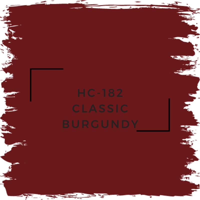 Benjamin Moore HC-182 Classic Burgundy