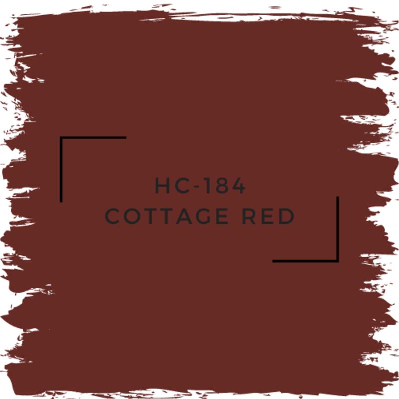 Benjamin Moore HC-184 Cottage Red