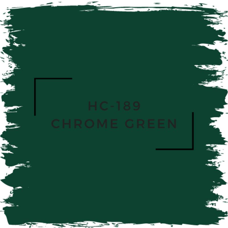 Benjamin Moore HC-189 Chrome Green