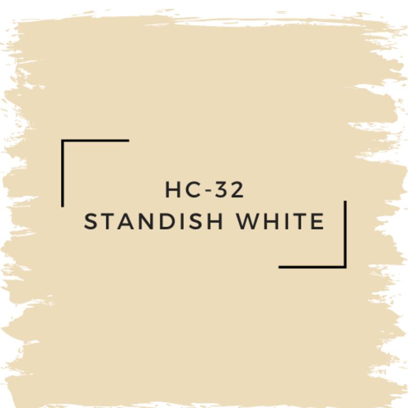 Benjamin Moore HC-32 Standish White