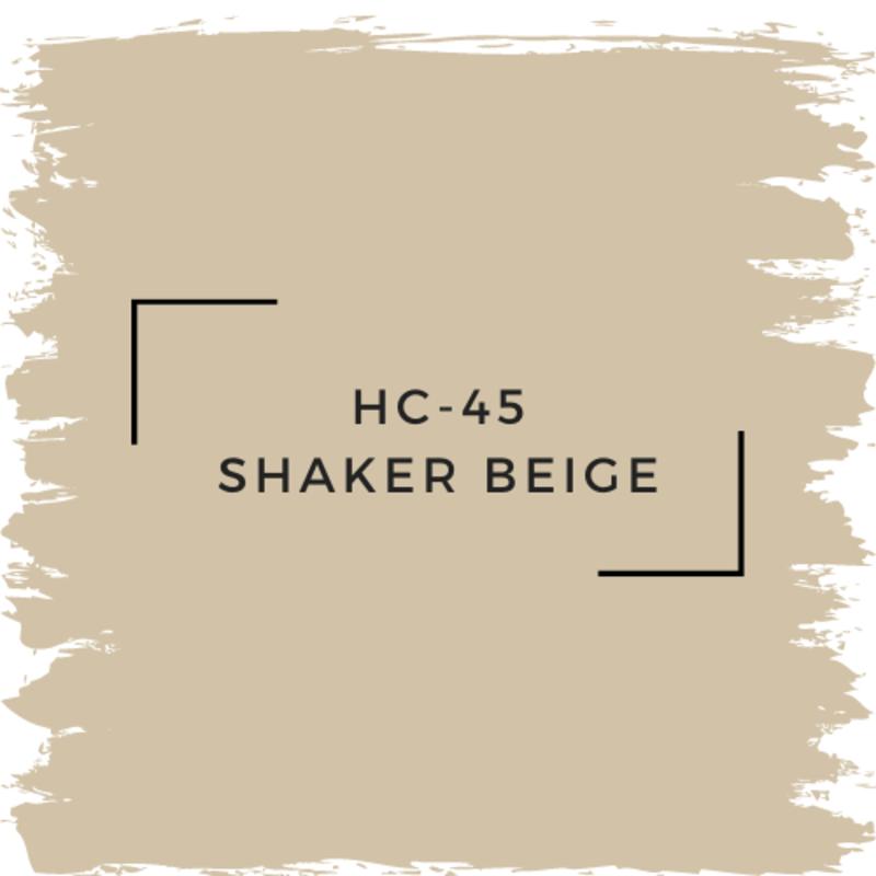 Benjamin Moore HC-45 Shaker Beige
