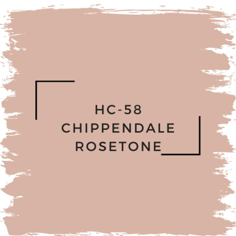 Benjamin Moore HC-58 Chippendale Rosetone