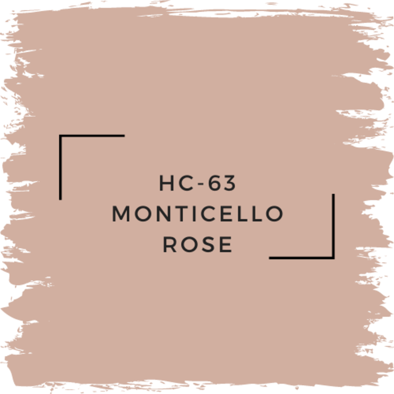 Benjamin Moore HC-63 Monticello Rose