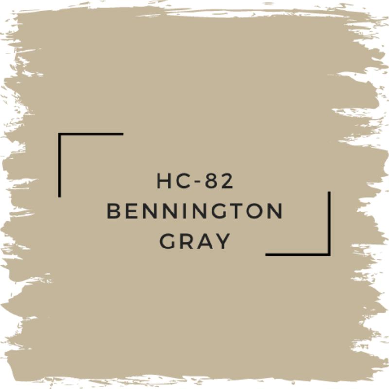 Benjamin Moore HC-82 Bennington Gray
