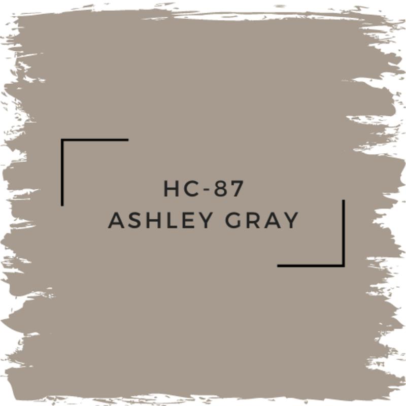 Benjamin Moore HC-87 Ashley Gray