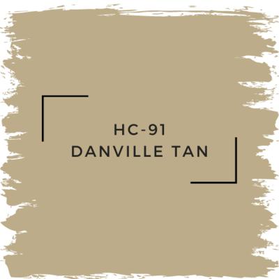 Benjamin Moore HC-91 Danville Tan