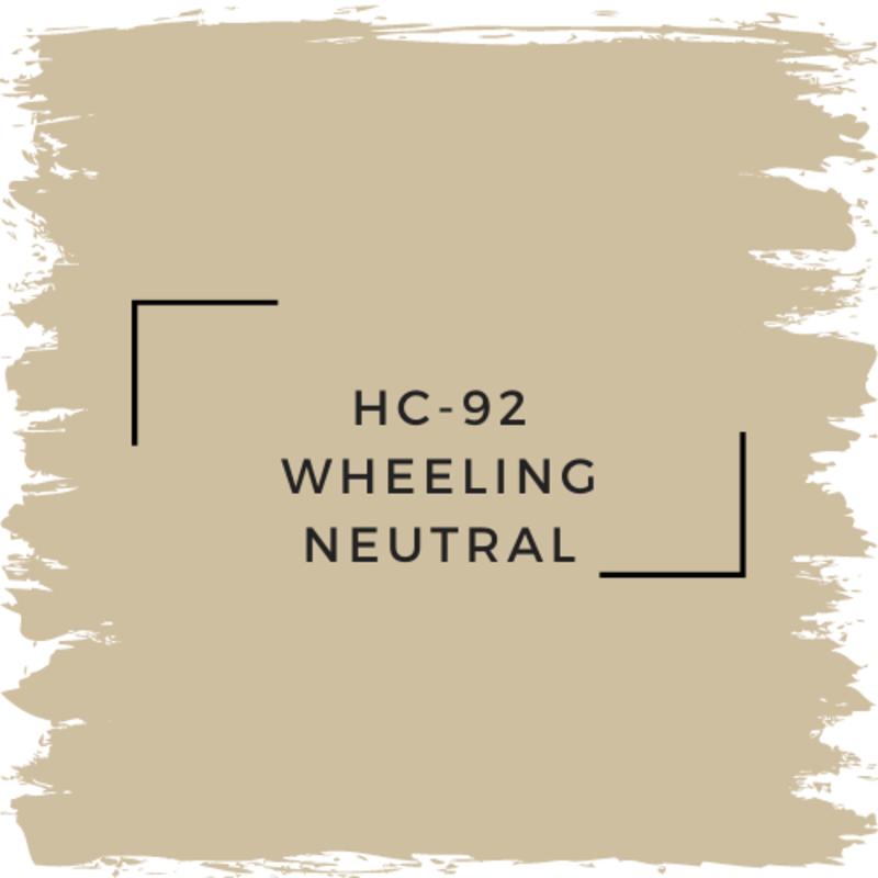 Benjamin Moore HC-92 Wheeling Neutral