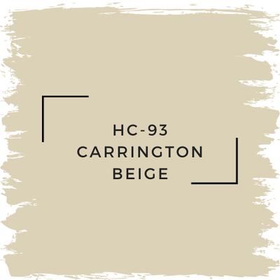 Benjamin Moore HC-93 Carrington Beige