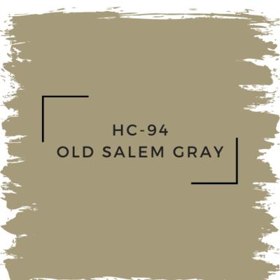 Benjamin Moore HC-94 Old Salem Gray