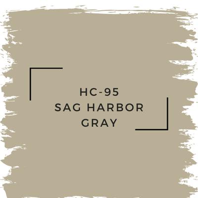 Benjamin Moore HC-95 Sag Harbor Gray