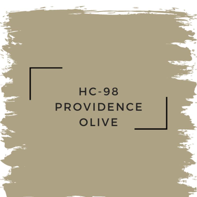 Benjamin Moore HC-98 Providence Olive