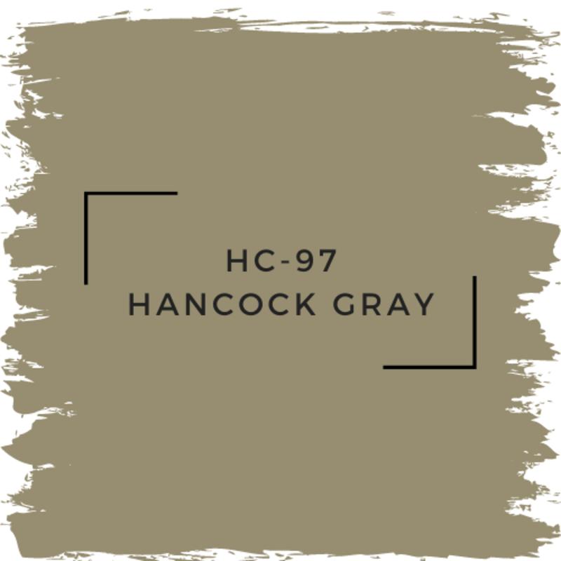 Benjamin Moore HC-97 Hancock Gray