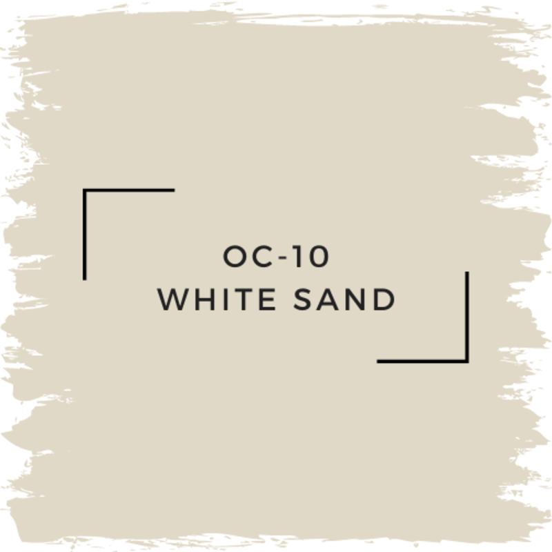 Benjamin Moore OC-10 White Sand