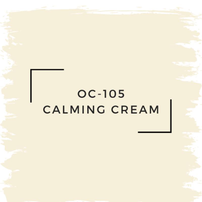 Benjamin Moore OC-105 Calming Cream