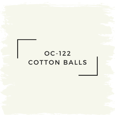 Benjamin Moore OC-122 Cotton Balls
