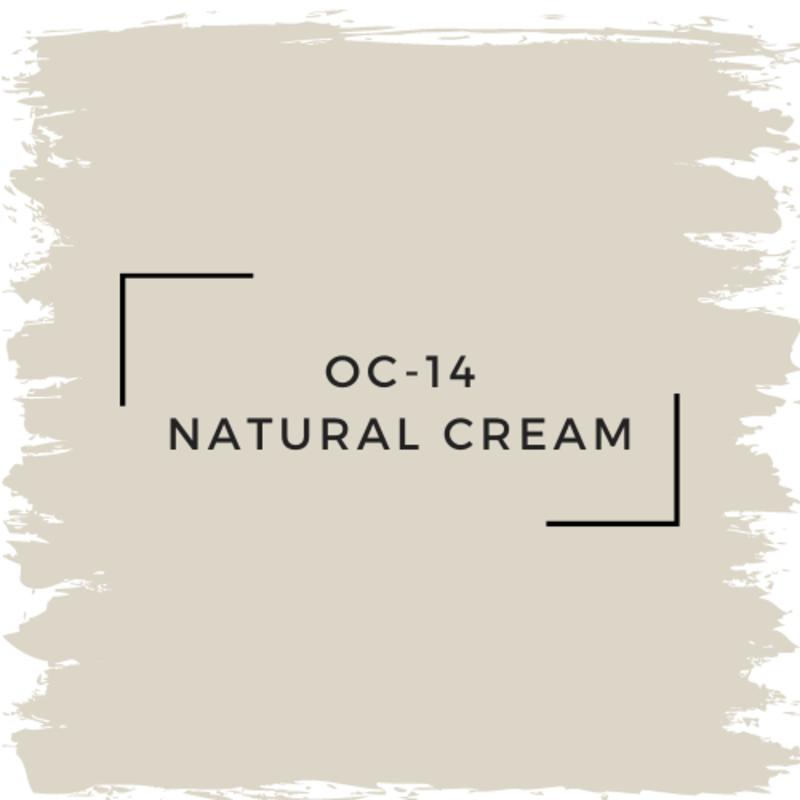 Benjamin Moore OC-14 Natural Cream