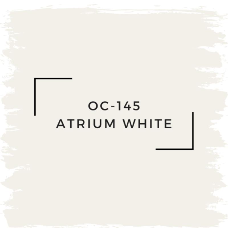 Benjamin Moore OC-145 Atrium White