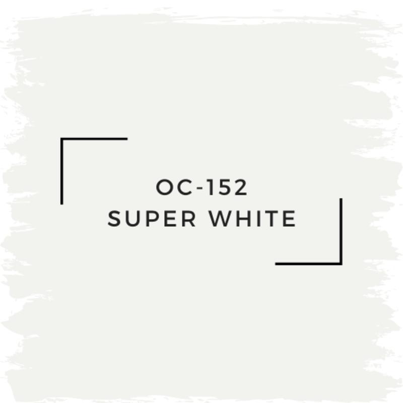 Benjamin Moore OC-152 Super White