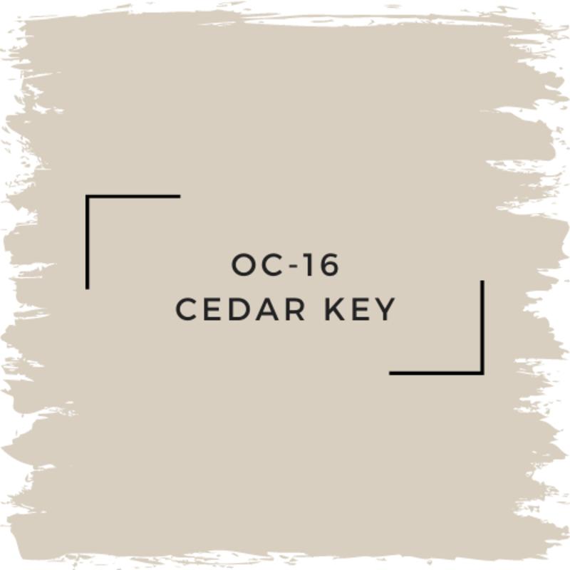 Benjamin Moore OC-16 Cedar Key