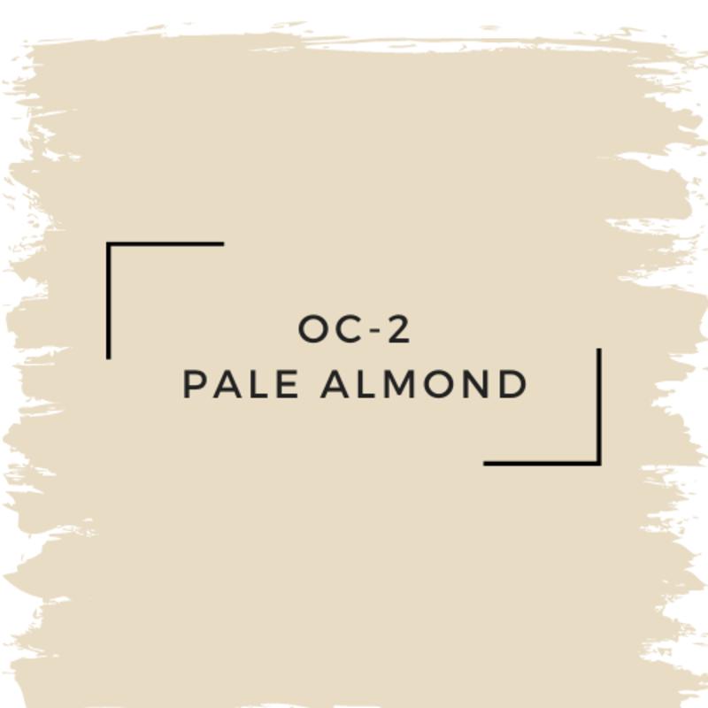 Benjamin Moore OC-2 Pale Almond