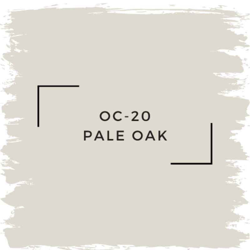 Benjamin Moore OC-20 Pale Oak