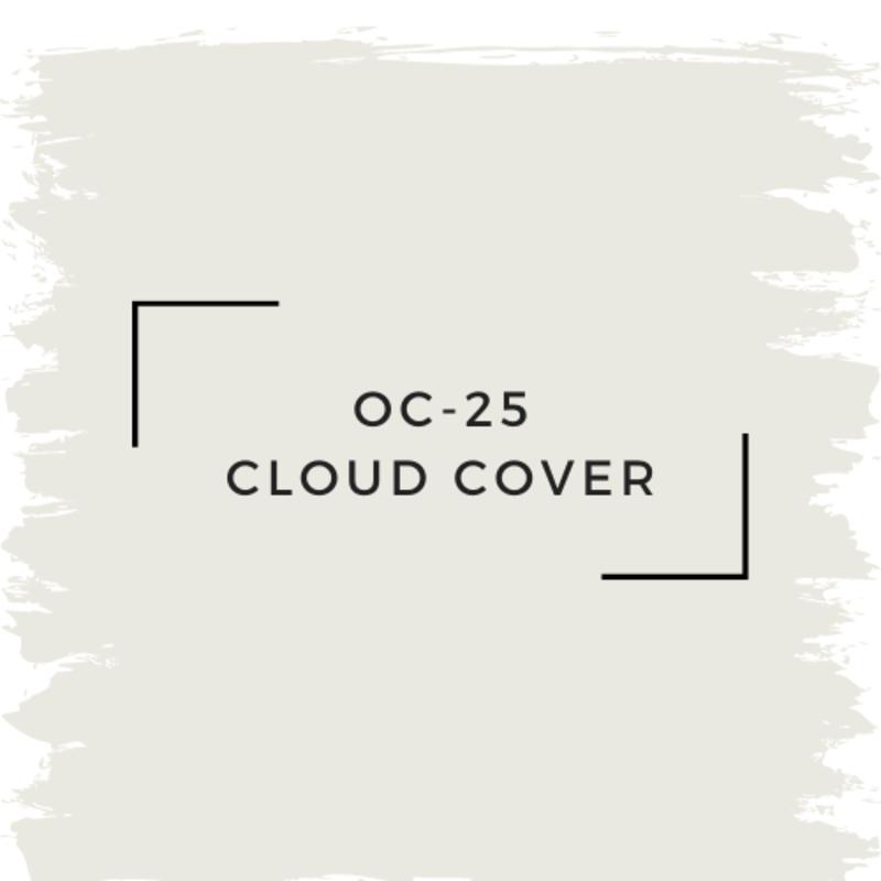 Benjamin Moore OC-25 Cloud Cover