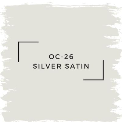 Benjamin Moore OC-26 Silver Satin