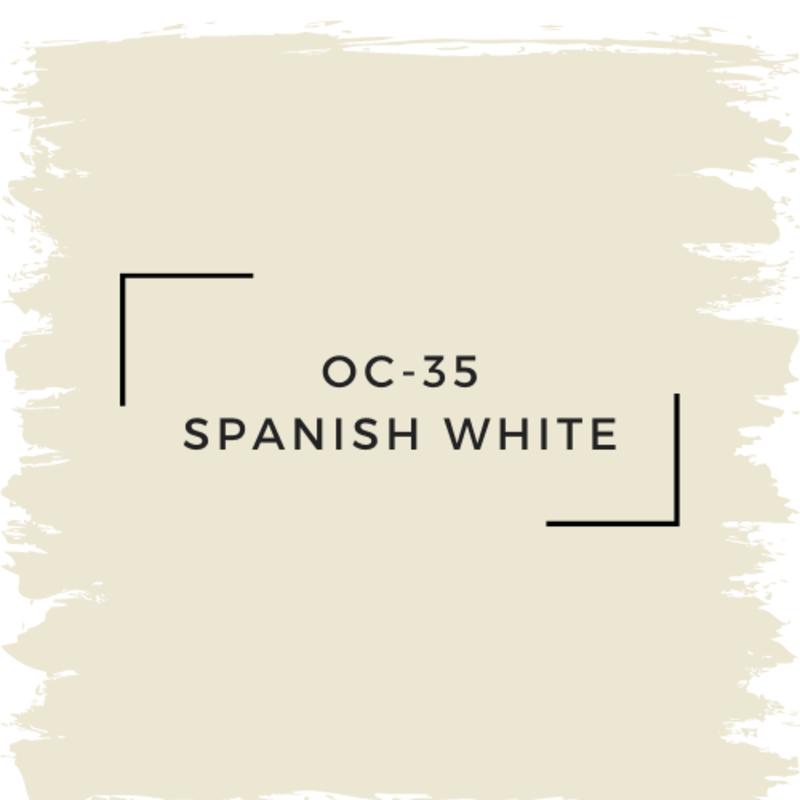 Benjamin Moore OC-35 Spanish White