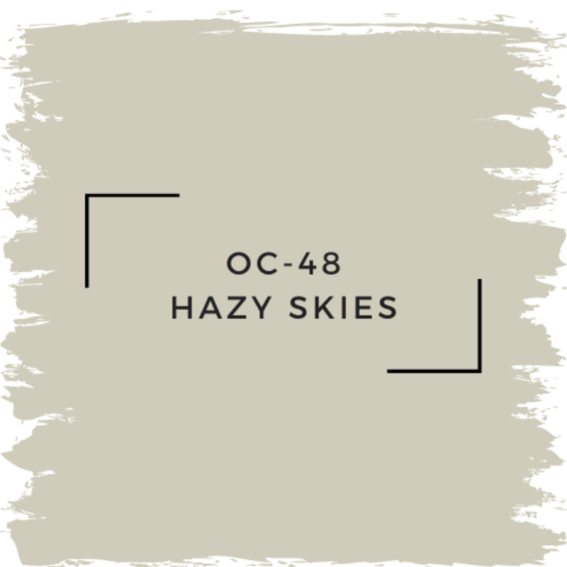 Benjamin Moore OC-48 Hazy Skies