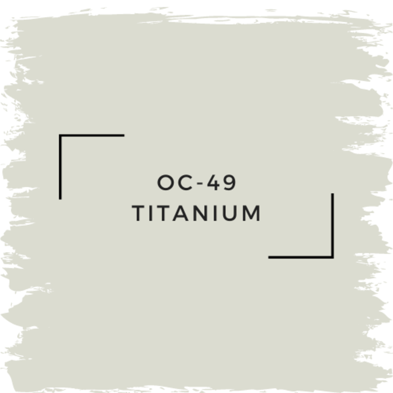 Benjamin Moore OC-49 Titanium