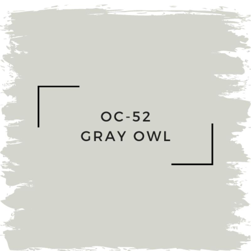 Benjamin Moore OC-52 Gray Owl