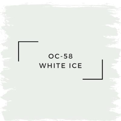 Benjamin Moore OC-58 White Ice