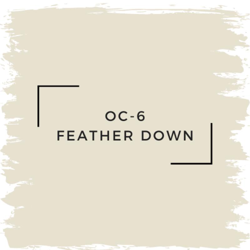 Benjamin Moore OC-6 Feather Down