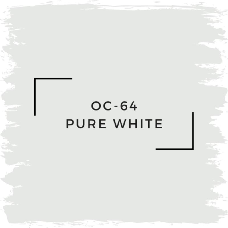 Benjamin Moore OC-64 Pure White