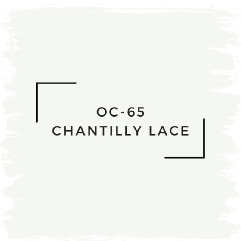 Benjamin Moore OC-65 Chantilly Lace