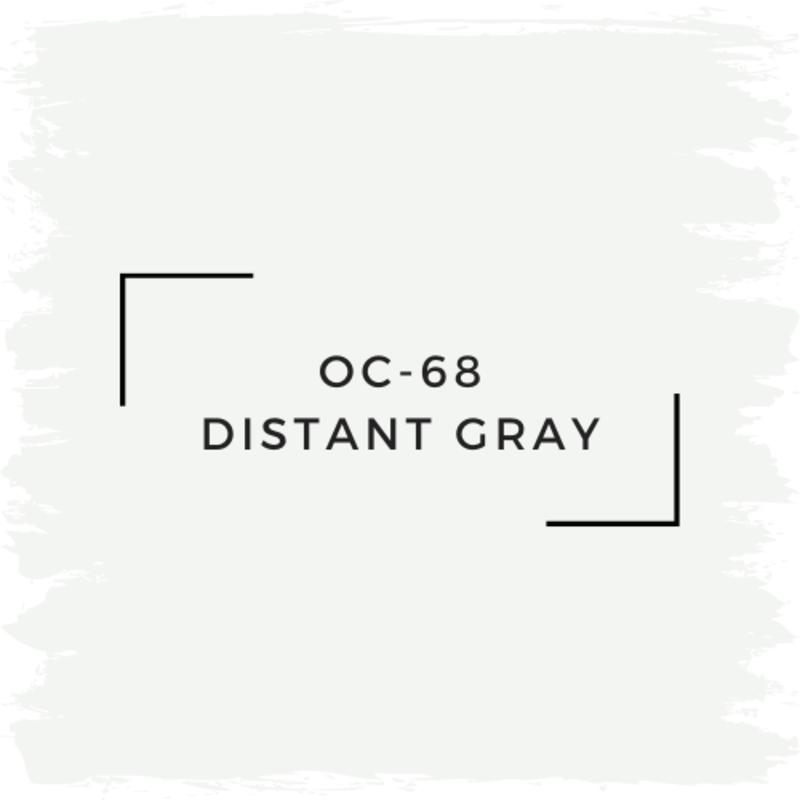 Benjamin Moore OC-68 Distant Gray