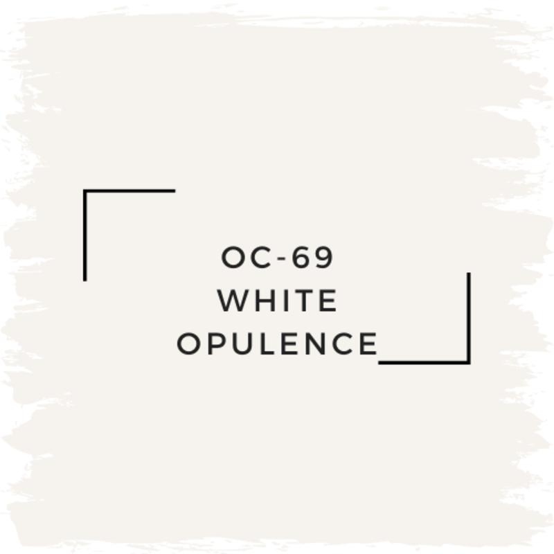 Benjamin Moore OC-69 White Opulence