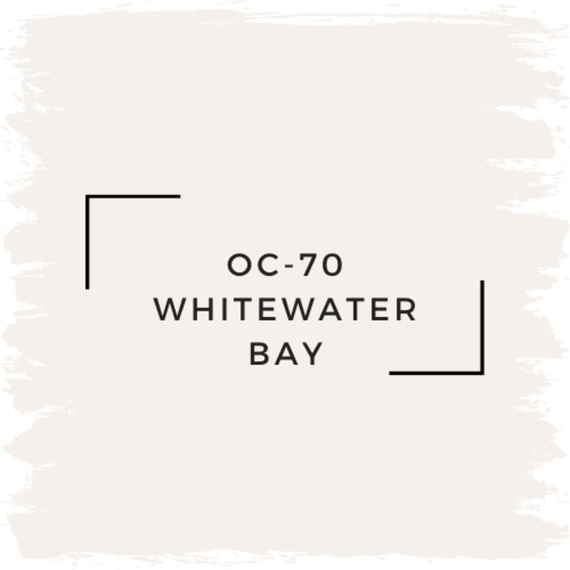 Benjamin Moore OC-70 Whitewater Bay