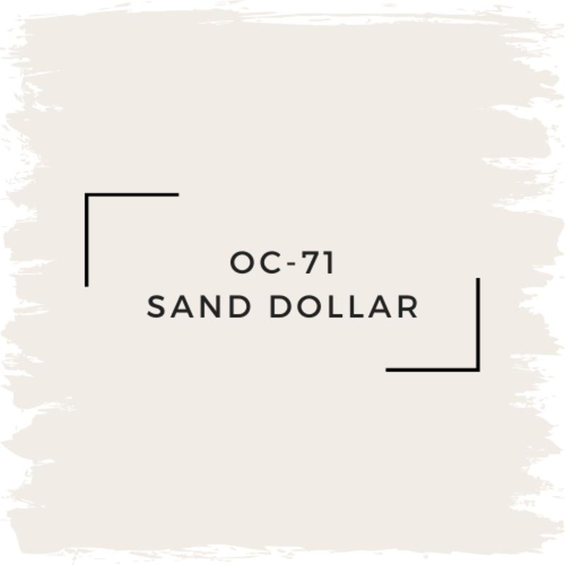 Benjamin Moore OC-71 Sand Dollar