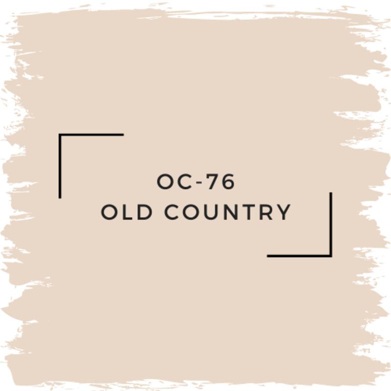 Benjamin Moore OC-76 Old Country